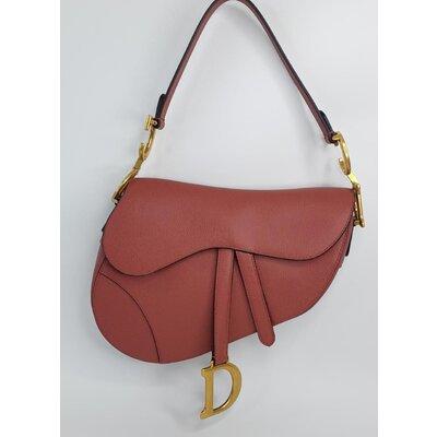 Bolsa Christian Dior Saddle Oblique G Rosa Malva
