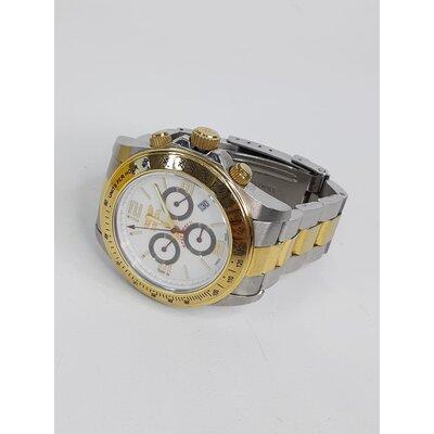 Relógio Invicta Prateado e Dourado