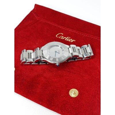Relógio Cartier Must 21 Aço Prateado