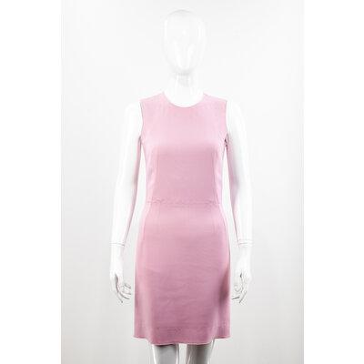 Vestido Dolce & Gabbana Crepe Rosa