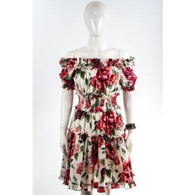 Vestido Dolce & Gabbana Cotton Floral