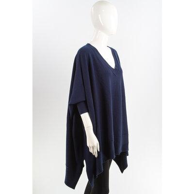 Malha Donna Karan em Cashmere Azul