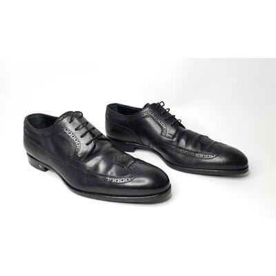 Sapato Louis Vuitton Couro Preto