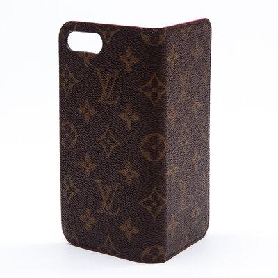 Case Celular Louis Vuitton Couro Monograma