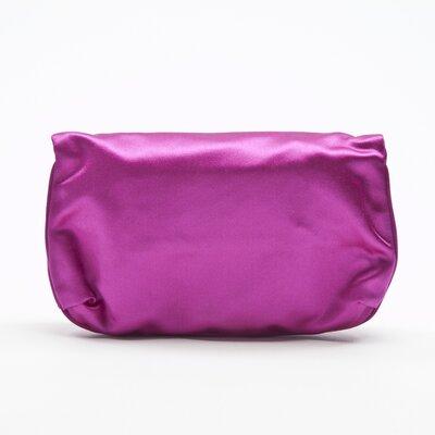 Clutch Pucci em cetim pink