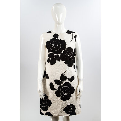 Vestido Dolce & Gabbana Tecido B&W