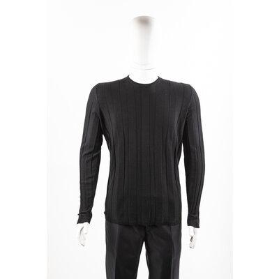 Malha Hermès em cashmere preta