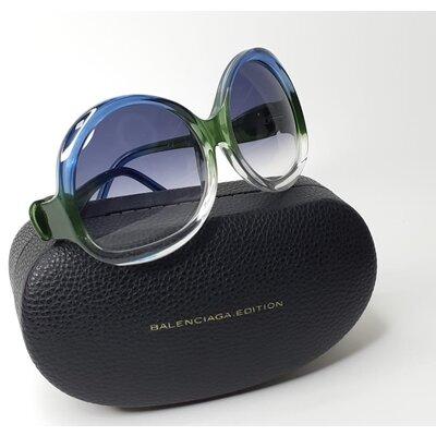 Óculos Balenciaga Acetato Azul, Verde