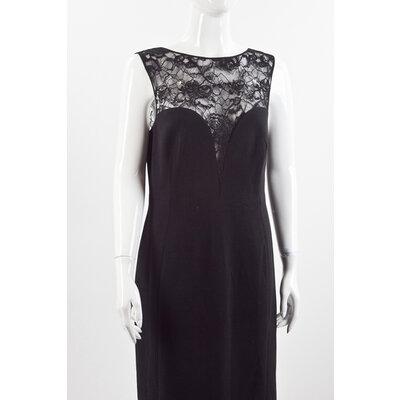 Vestido Pucci em renda preto