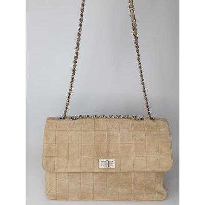 Bolsa Chanel em Camurça Bege