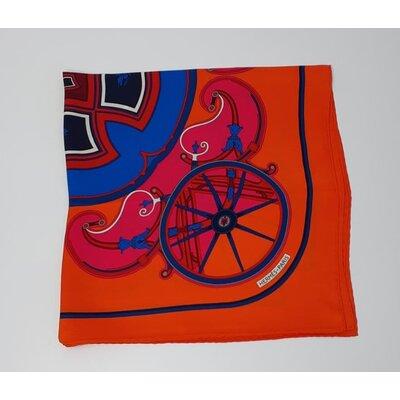 Lenço Hermès em Seda Estampado
