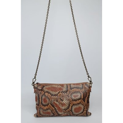 Clutch Bottega Veneta Snake Natural