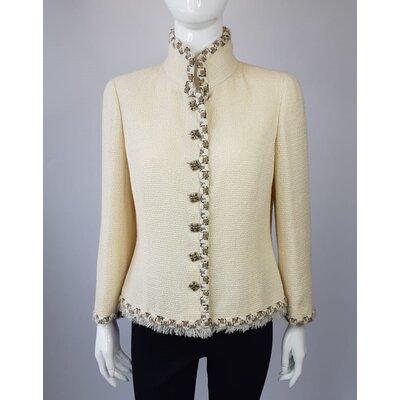 Blazer Chanel Tweed Creme
