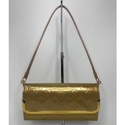 Bolsa/Clutch Louis Vuitton Rossmore MM Verniz Dourado