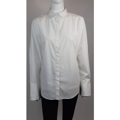 Camisa Carolina Herrera Algodão Branca