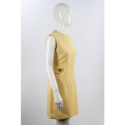 Vestido Louis Vuitton Crepe Creme