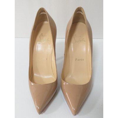 Sapato Louboutin Pigalle Plato Nude