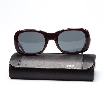 Óculos Cartier Acetato Vinho