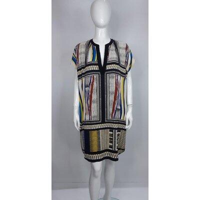 Vestido DVF em Seda Estampado