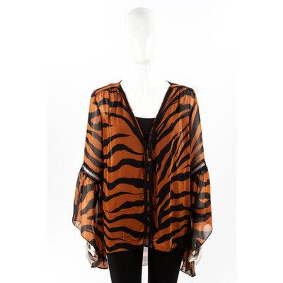 Camisa Tigresse Musseline Animal Print