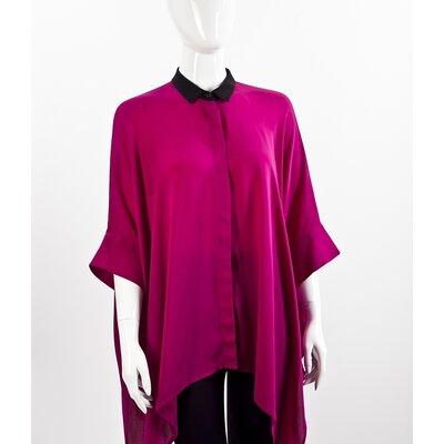 Tunica Gucci de seda pink
