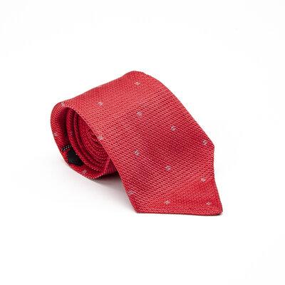 Gravata Chanel Seda Vermelha