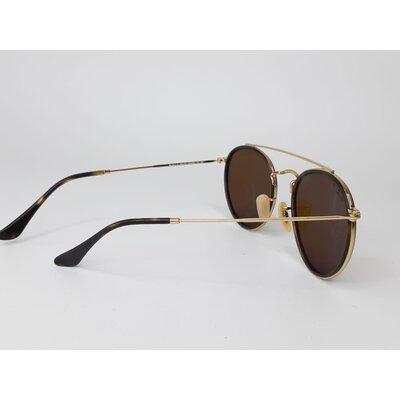 Óculos Ray Ban Round Marrom