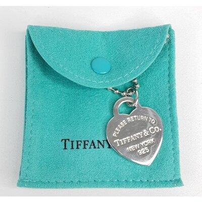 Corrente Tiffany & Co Return To Tiffany Longo em Prata