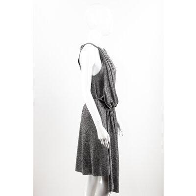 Vestido Louis Vuitton Tecido Prateado
