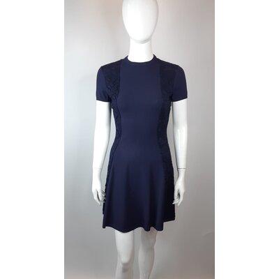Vestido Valentino Strech Azul Marinho