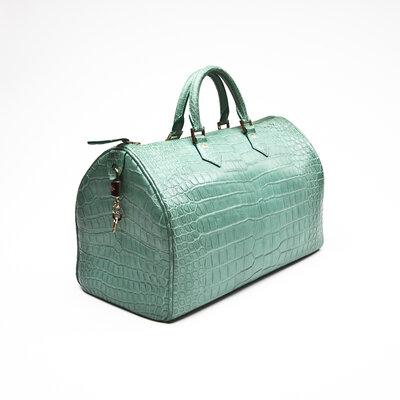 Bolsa Louis Vuitton Crocodilo Verde