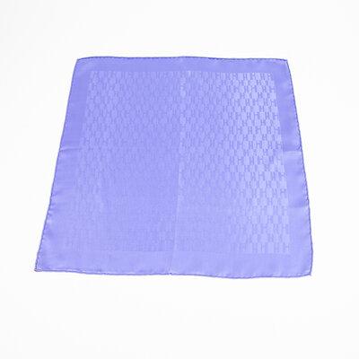 Lenço Hermès em seda lilas