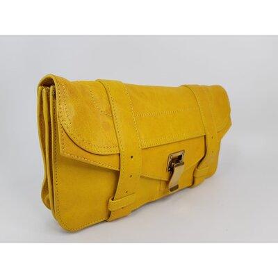 Clutch Proenza Schouler Couro Amarela