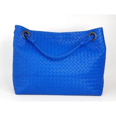 Bolsa Bottega Veneta Garba Intrecciato Azul Bic