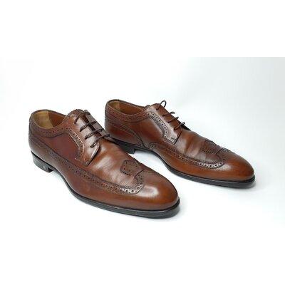 Sapato Louis Vuitton em Couro Marrom