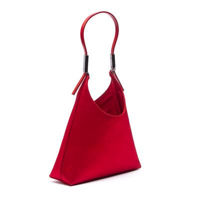 Mini Bolsa Gucci Cetim Vermelha