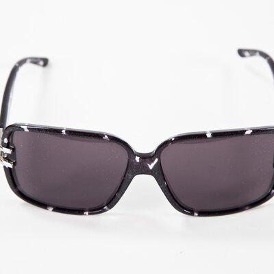 Óculos Dior preto com gliter