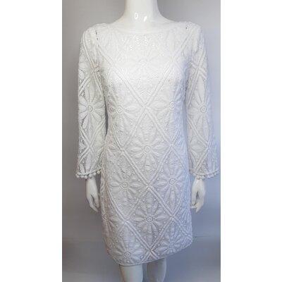 Vestido Lilly Pulitzer Renda Branco