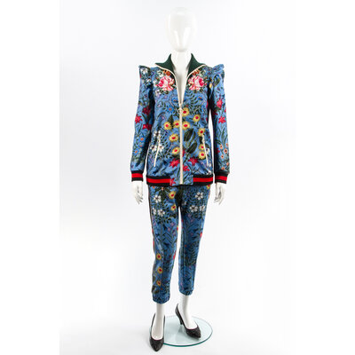Conjunto Gucci com Calça Estampado