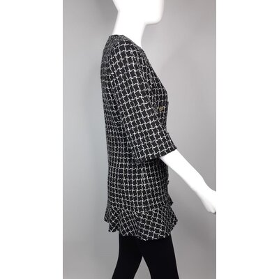 Blazer Chanel Tweed B&W