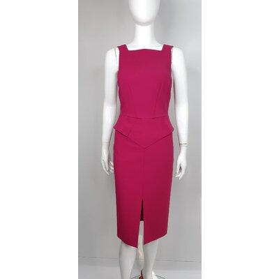 Vestido Pucci Crepe Pink