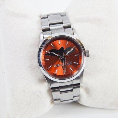Relógio Zadig & Voltaire em aço c/fundo coral