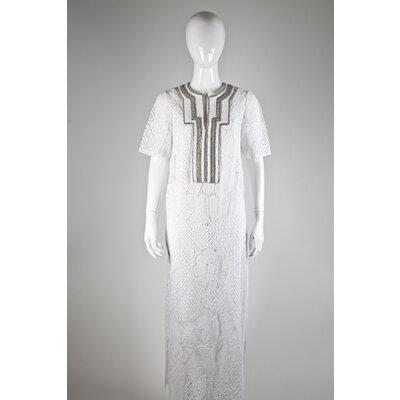 Vestido Martha Medeiros em renda com bordado