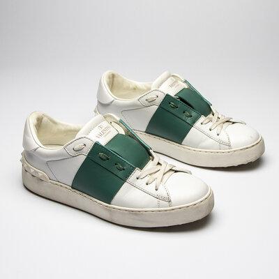 Tênis Valentino Rockstuds Branco e Verde