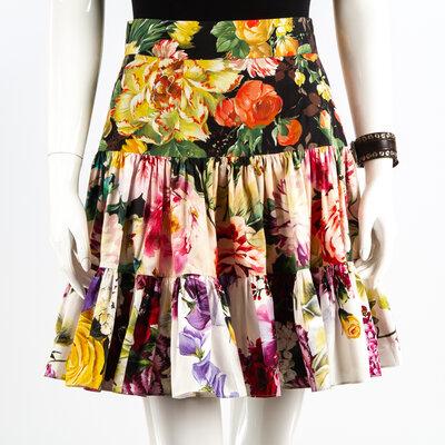 Saia Dolce & Gabbana Cotton Floral