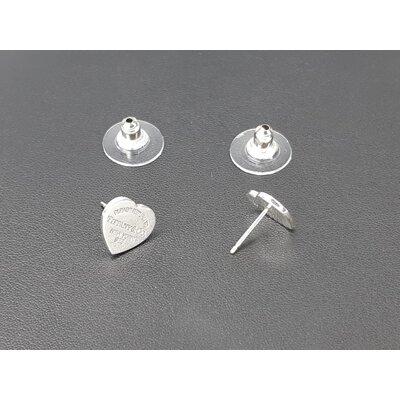 Brinco Tiffany & Co Coração Prata