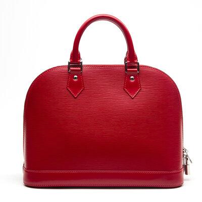 Bolsa Louis Vuitton Alma PM Vermelha