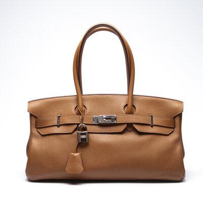 Bolsa Hermès Birkin JPG Togo Caramelo