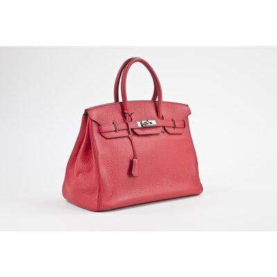 Bolsa Hermès Birkin 35 Clemence Bougainvillea