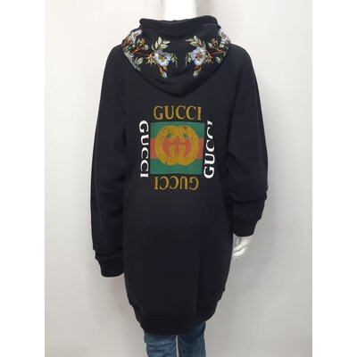 Moletom Gucci Preto com Bordado